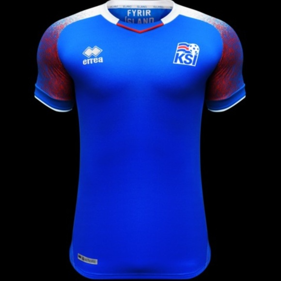 get cheap 0d754 66434 Iceland 2018 World Cup Jersey by Errea NEW Boutique